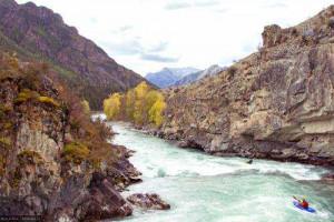 Kayaking и Rafting на Алтае 5