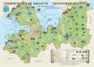 Leningrad-Region-Tourist-Circuit-Map