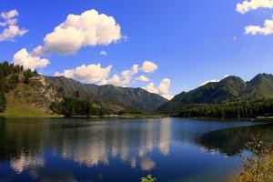 Озера Чемальского района, Алтай