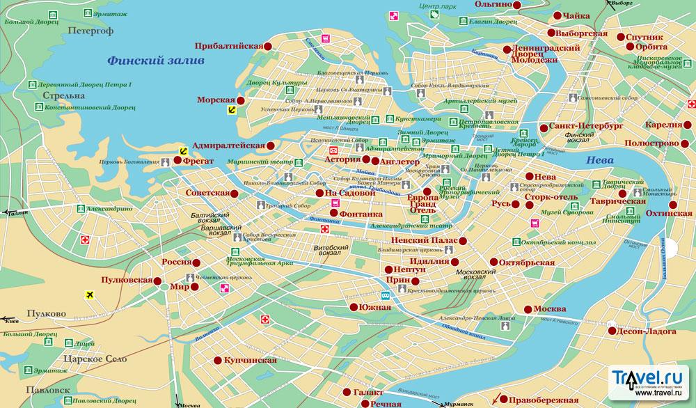 скачать карта санкт петербурга
