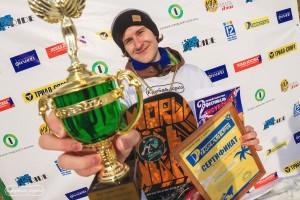 Фестиваль сноуборда в Омске победитель