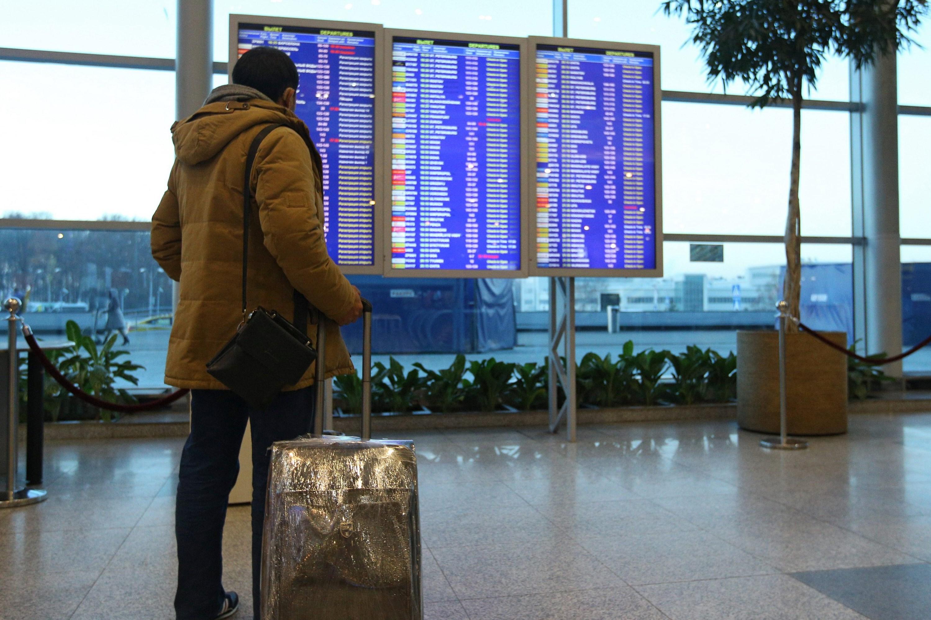 Ситуация в аэропортах Москвы