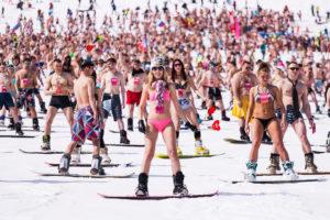 Туры в Шерегеш на спуск в купальниках и Grelka Fest