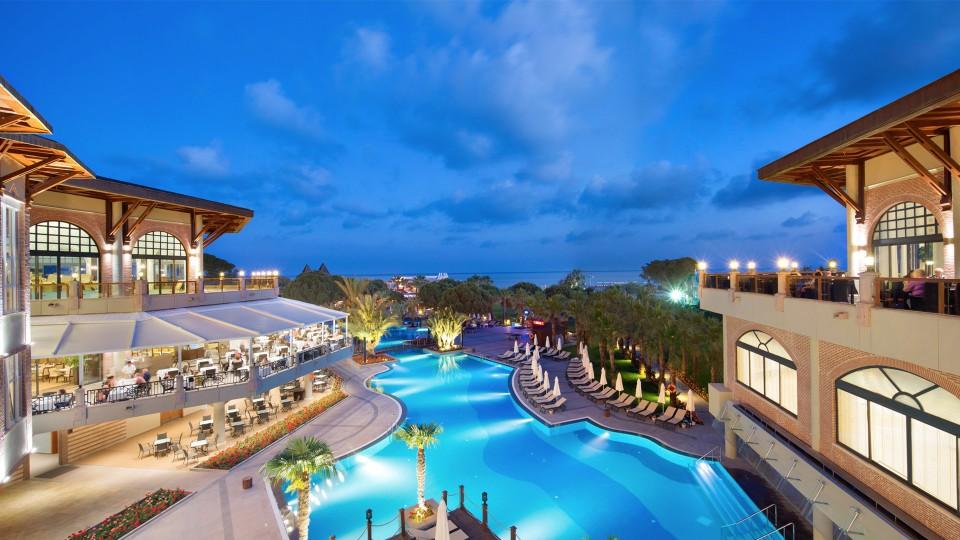 Лучшие пятизвездочные отели турции